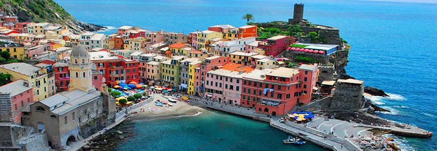 Fastenwandern an der italienischen Riviera: Cinque Terre, Ligurien